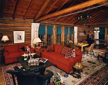 Colorado Ranch living room