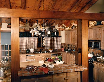 Designward inc residential and interior design specialists for Ranch style kitchen designs